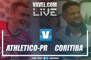 Athlético-PR x Coritiba AO VIVO hoje pelo Campeonato Paranaense (1-1)
