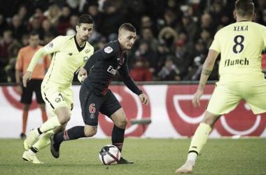 Resultado de Lille x PSG pelo Campeonato Francês (5-1)