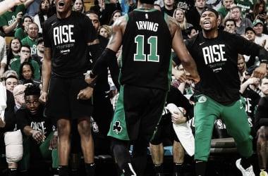 Boston Celtics garantem primeiro mando de quadra e batem Indiana Pacers pelos playoffs da NBA