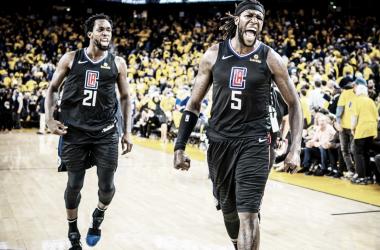 Com a virada incrível, os Clippers empataram a série em 1 a 1 (Foto: Divulgação/Los Angeles Clippers)