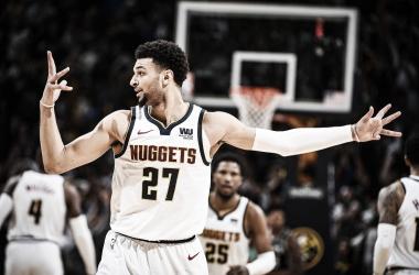 Jamal Murray brilha no último quarto, Nuggets viram contra Spurs e deixam tudo igual na série