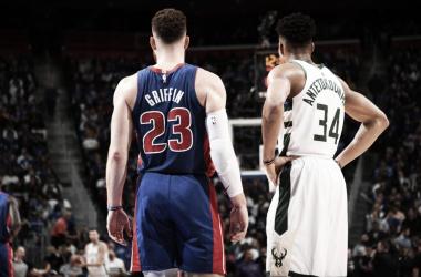 Na volta de Blake Griffin aos playoffs, Bucks vencem Pistons e abrem boa vantagem na série