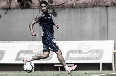 Evandro está pronto para jogar pelo Santo (Foto: Ivan Storti/Santos)