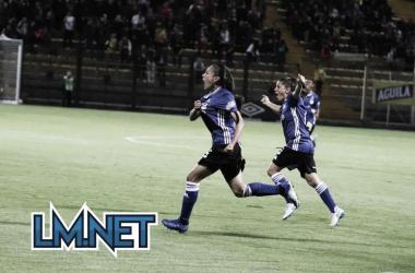 Lina Gómez anota el primer gol en un clásico capitalino