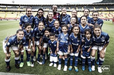 Millonarios cae por primera vez en la Liga Aguila Femenina