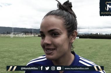 """Maria Peraza: """"El fútbol sin gol no gana nadie"""""""