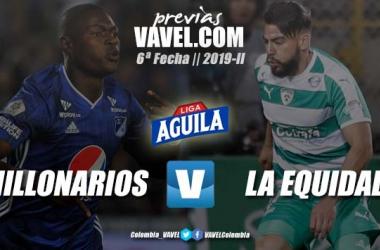 Previa Millonarios FC vs Equidad Seguros: Continúa el camino por la liga