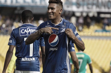 """José Guillermo Ortiz: """"Feliz por el resultado, aquí no es Ortiz sino Millonarios"""""""