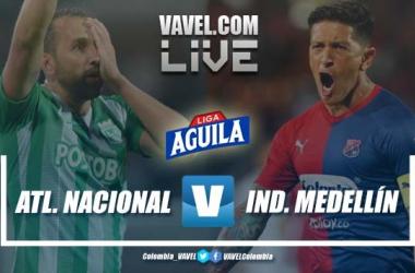 Resumen Nacional vs. Medellín por la fecha 8, Liga Aguila 2019-II (5-2)