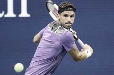 Dimitrov surpreende e vira para cima de Federer nas oitavas do US Open