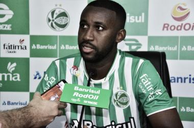 Semifinalista da Série C com o Juventude, atacante Bruno Alves é contratado pelo CSA