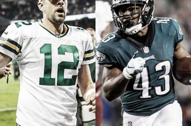 Em momentos opostos, Packers e Eagles abrem a semana 4 da NFL