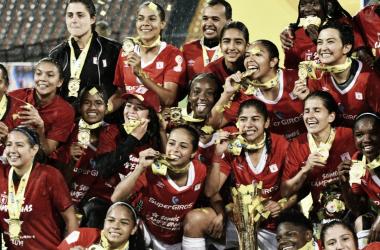 América se convirtió en el tercer equipo campeón de la Liga Aguila Femenina
