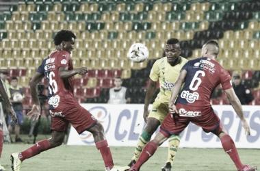 Los datos que dejó el empate de Medellín 2-2 contra Bucaramanga