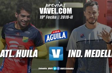 Previa Atlético Huila vs. Independiente Medellín: la obligación de ganar para dos necesitados