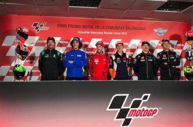 Rueda de prensa Gran Premio de la Comunitat Valenciana 2019