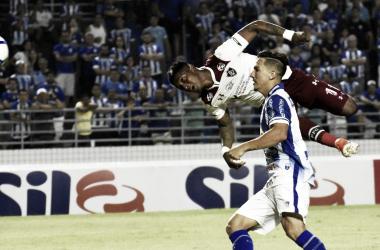 Yoni Gonzalez marcou o único gol da partida (Foto: Reprodução/Fluminense)
