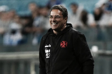 Luxemburgo pegou o Vasco na lanterna do Campeonato e fica próximo de classificação para a Copa Sul-Americana (Foto: Reprodução / Site Oficial Vasco da Gama)