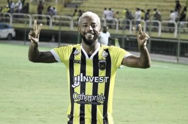 Luiz Paulo, lateral-esquerdo titular em 2019 (Foto: Divulgação/Volta Redonda)