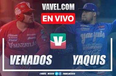 Resumen y carreras: Yaquis Obregón 6-0 Venados Mazatlán en Juego 2 LMP Semifinal 2020