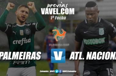 Previa Palmeiras vs. Atlético Nacional: primer examen del año