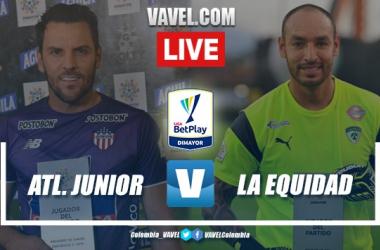 Goles y resumen: Junior Barranquilla 2-0 Equidad en Liga BetPay 2020