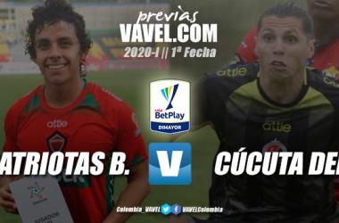 Previa Patriotas Boyacá vs Cúcuta Deportivo: Jairo Patiño buscará la victoria en su debut como técnico del equipo 'motilón'