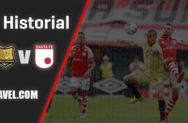 Historial Águilas Doradas vs. Independiente Santa Fe