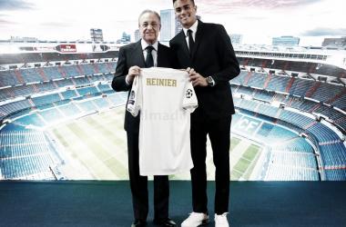 """Reinier en su presentación: """"Voy a dar la vida por el Real Madrid"""""""