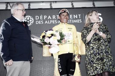Nairo, campeón del Tour de los Alpes Marítimos