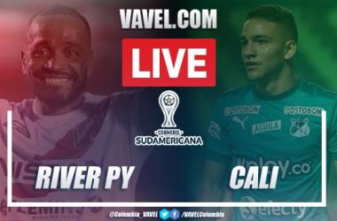 Resumen y goles: River Plate (PY) 1-3 Deportivo Cali por Copa Sudamericana 2020
