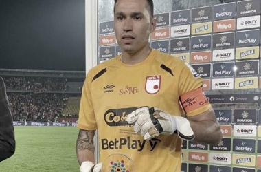 Leandro Castellanos, la figura santafereña ante Millonarios