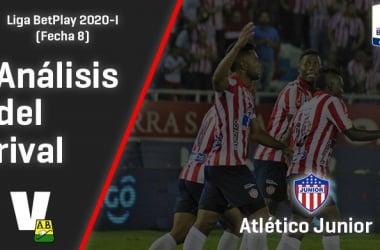 Atlético Bucaramanga, análisis del rival: Junior de Barranquilla
