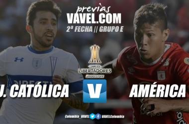 Previa Universidad Católica vs. América de Cali: a enderezar el rumbo en la Libertadores
