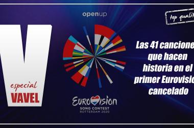 Las 41 canciones que hacen historia en el primer Eurovisión cancelado