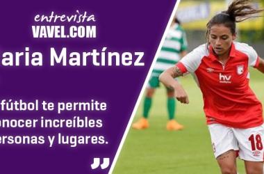 """Entrevista a María Martínez: """"Es simplemente no rendirse nunca y seguir los sueños"""""""