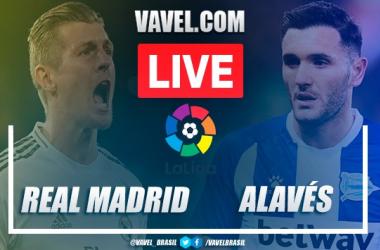Gols e melhores momentos de Real Madrid x Alavés em LaLiga (2-0)