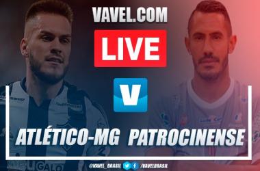 Gols e melhores momentos Atlético-MG 4 x 0 Patrocinense pelo Campeonato Mineiro