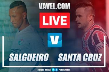 Gols e melhores momentos de Salgueiro x Santa Cruz no Campeonato Pernambucano (1-1)