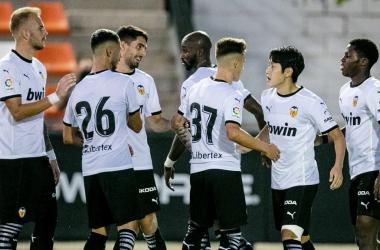 El Valencia vence al Cartagena y acaba la pretemporada invicto