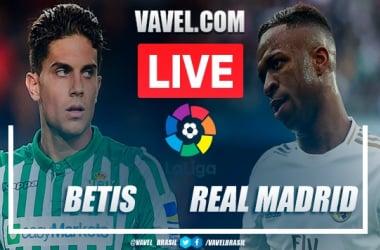 Resumen del Real Betis Betis vs Real Madrid (2-3)