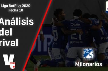 Independiente Santa Fe, análisis del rival: Millonarios F.C. (Fecha 10, Liga 2020)