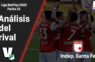 Deportivo Cali, análisis del rival: Independiente Santa Fe (Fecha 15, Liga 2020)