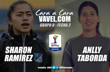 Cara a cara: Sharon Ramírez vs Anlly Taborda