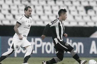 Em semana tumultuada, Botafogo perde pênalti e empata com Ceará no Engenhão