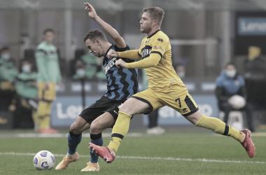Parma abre dois gols de vantagem, mas Internazionale se recupera e busca empate no fim