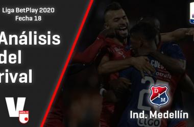 Independiente Santa Fe, análisis del Rival: Independiente Medellín (Fecha 18, Liga 2020)
