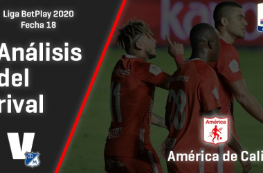 Millonarios, análisis del rival: América de Cali (Fecha 18, Liga 2020)
