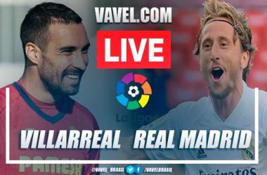 Gols e melhores momentos de Villarreal 1 x 1 Real Madrid pelo Campeonato Espanhol