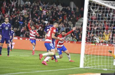 Precedentes ligeramente favorables al Granada CF ante el Valladolid